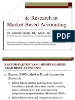 Materi 5 Academic Research in Market-Based Accounting