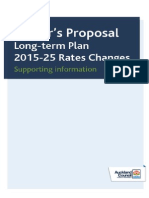 Mayor's LTP Rates Proposal_ Supporting Information