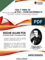 Vida y Obra de Edgar A. Poe- John Katzenbach