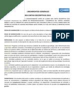 Lineamientos Generales Para Cartas Descriptivas 2013