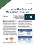 Understand Membrane Filtration