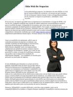 Wordpress Para Su Sitio Web De Negocios