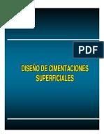 04.- Diseño Cimentación Superficial