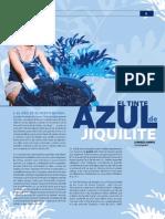 Tinte Azul Del Jiquilite