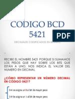Codigo Bcd 5421