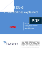 TLS & SSLv3 Vulnerabilities