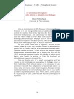 Klesis-philosophies Forma y Materia en Heidegger