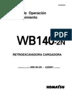 Manual de komatsu  WB140 (Español)