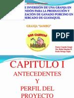PROYECTO DE INVERSI+ôN DE UNA GRANJA EN EL SECTOR DE SAMBORO