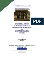 Gestión Escuelas Básicas Rurales 2002