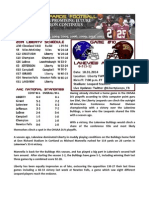 Lakeview (6-3) at Liberty (8-1) Game Notes