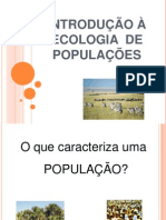 ECOLOGIA  DE POPULAÇÕES VErsão 97.ppt