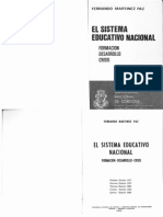 FERNANDO MARTINEZ PAZ El Sistema Educativo Nacional