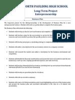 austin- entrepreneurship business plan - long-term project
