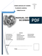Manual Embriología