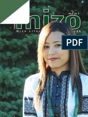 The MIZO (Mizo Social & Literary Journal, USA) Vol  II No  2