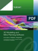 Maptek Vulcan Overview Brochure