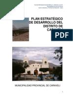 Plan estartegico de desarrollo del  distrito de  caraveli.pdf