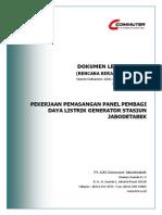 RKS Pekerjaan Pemasangan Panel Pembagi Daya Listrik Generator Stasiun Jabobetabek.pdf