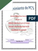 Teoría Mantenimiento de PC's