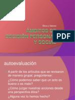 Ámbitos de Decisión Personal y Social
