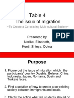 Migration Issues Summary Presentation