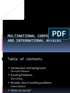 "multinational corporations in india ppt 4 the multinational corporation and global governance a multinational corporation (mnc)1 is ""an enterprise that engages in foreign direct investment (fdi) and that."
