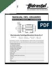 Manual Electrobomba Serie Byc v.c.11 11