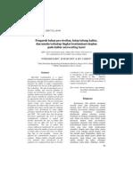 Pengaruh bahan pra-sterilan, tutup tabung kultur, dan musim terhadap tingkat kontaminasi eksplan pada kultur microcutting karet
