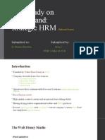 Case Study on Strategic HRM Disneyland