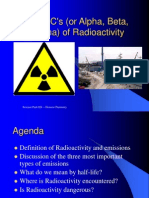 the abcs of radioactivity