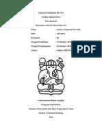 Laporan Praktikum KI 3121 - Penetapan Anion Fosfat