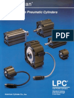 American Cylinder Low Profile Pneumatic