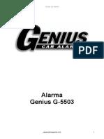 Alarma Genius OEM G5503