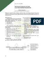 Pengukuran Tekanan Air Pori Dengan Pore Pressure Transducer (Soil)