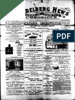 Heidelberg News February 1900