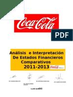 Analisis e Interpretacion de Coca-cola