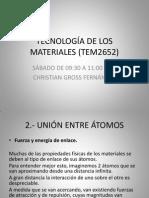Tecnología de Los Materiales (Tem2652) c2