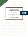 Manual de la Reconstrucción Cristiana