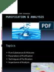Purification & Analysis