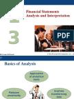 Financial Statements Analysis and Interpretation