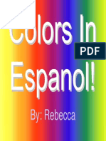 Colors in Espanol! Becca Sp1