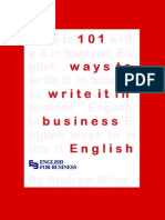 101 Ways to Write It in Business English (1)