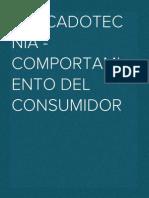 Mercadotecnia - Comportamiento Del Consumidor