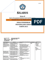 Silabus Sd Kelas II 2013