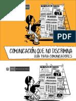 Comunicación Que No Discrimina - Guia Para El Comunicador
