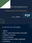 sherry---assistive technology