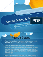 Agenda Setting Framing