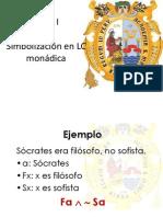 9 Simbolización en LC Monádica