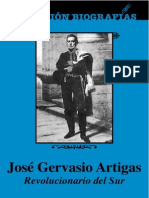 Artigas, Jose Gervasio, Biografia.
